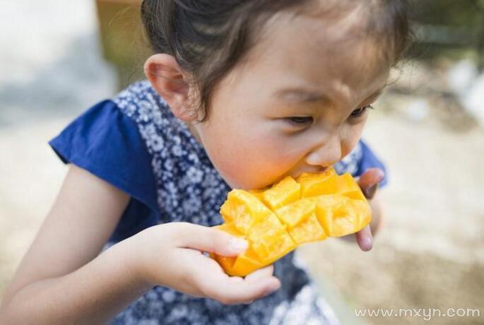 梦见吃芒果