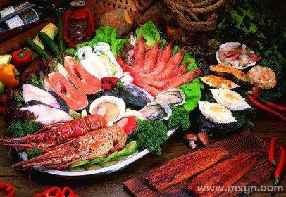 梦见吃海鲜