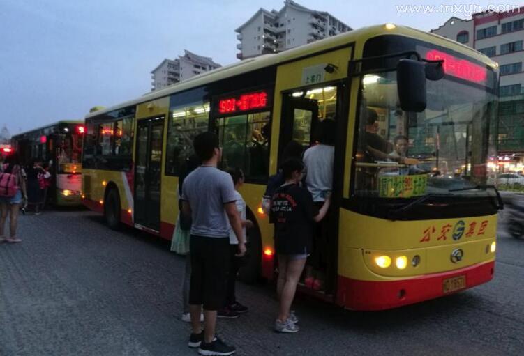 梦见坐公交车
