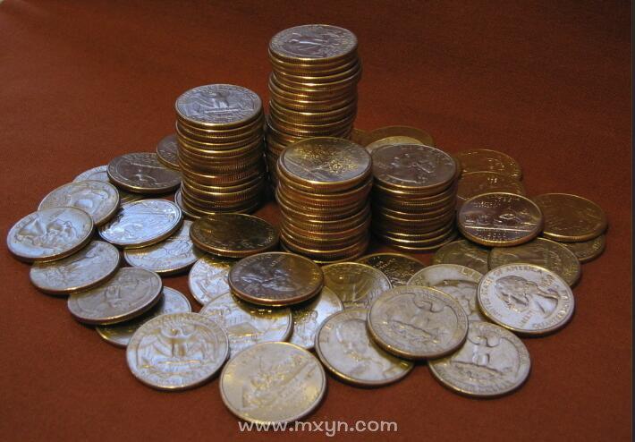 梦见捡了好多硬币