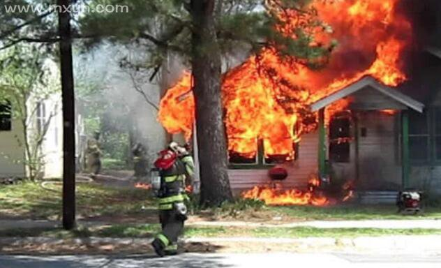 梦见家里着火又被扑灭