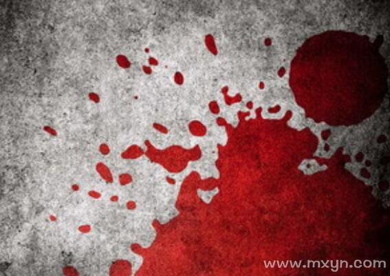 梦见别人流血