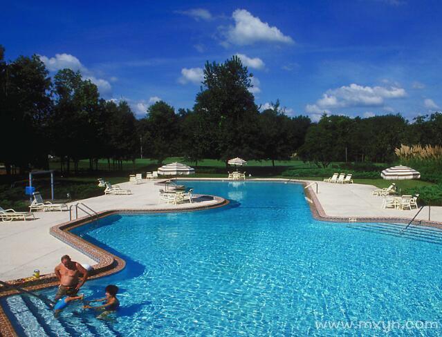 梦见在游泳池游泳