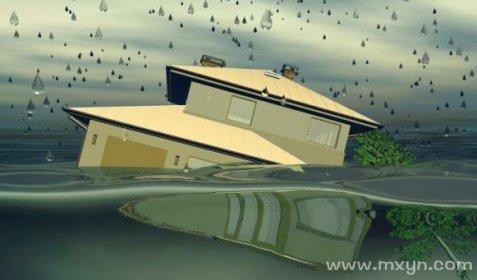 梦见房屋漏水