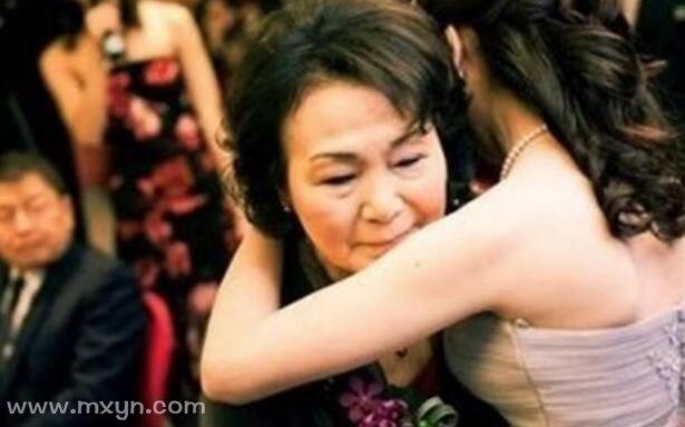 母亲做梦梦见女儿结婚