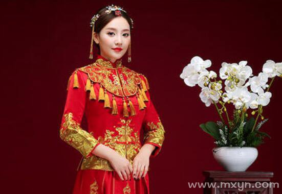 梦见新娘子穿着红嫁衣
