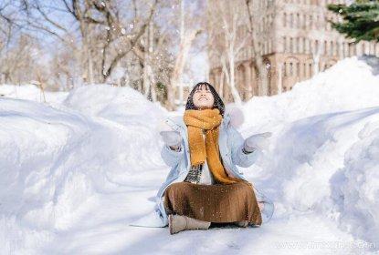 女人梦见很厚的积雪