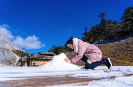 女人梦见地上都是雪