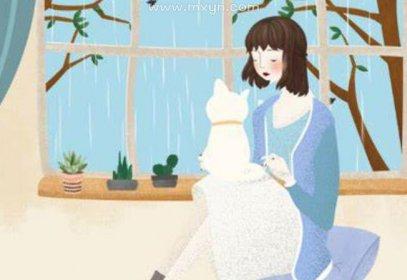 女人梦见猫缠着自己