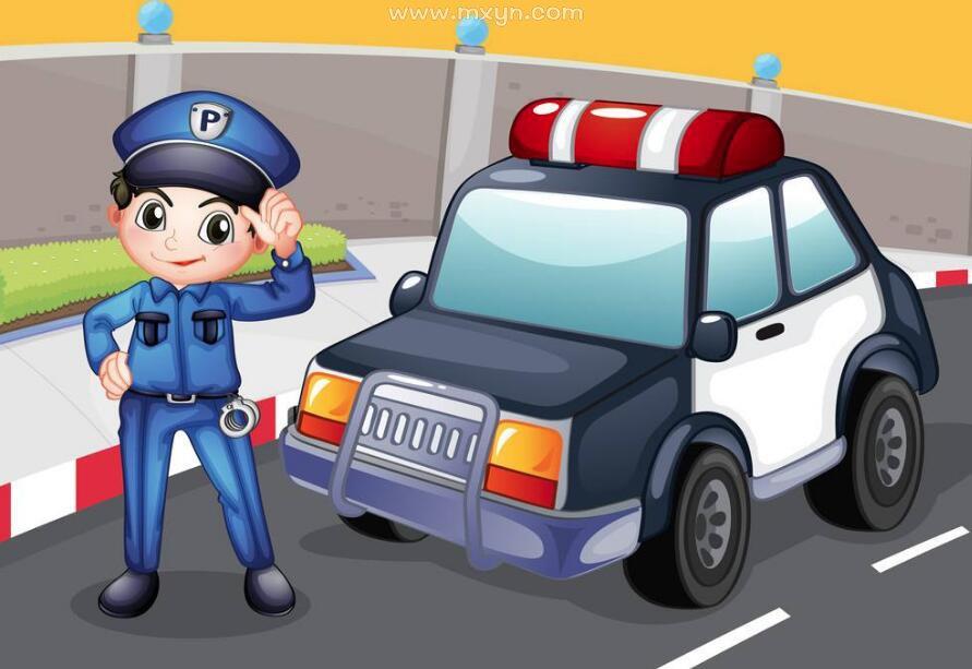 女人梦见警察