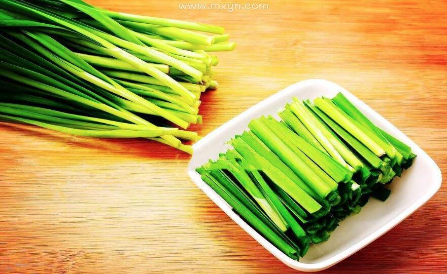 梦见吃韭菜