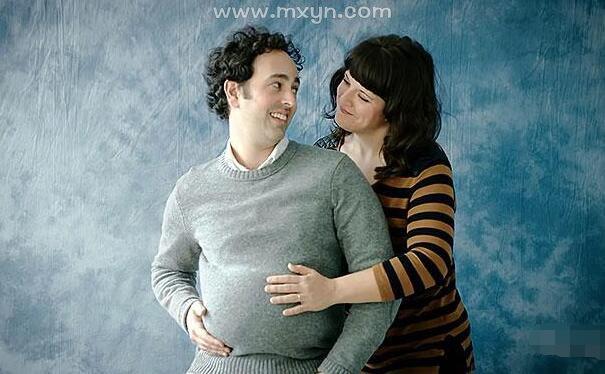 梦见男人怀孕了大肚子