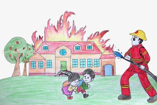 梦见房子着火用水浇灭